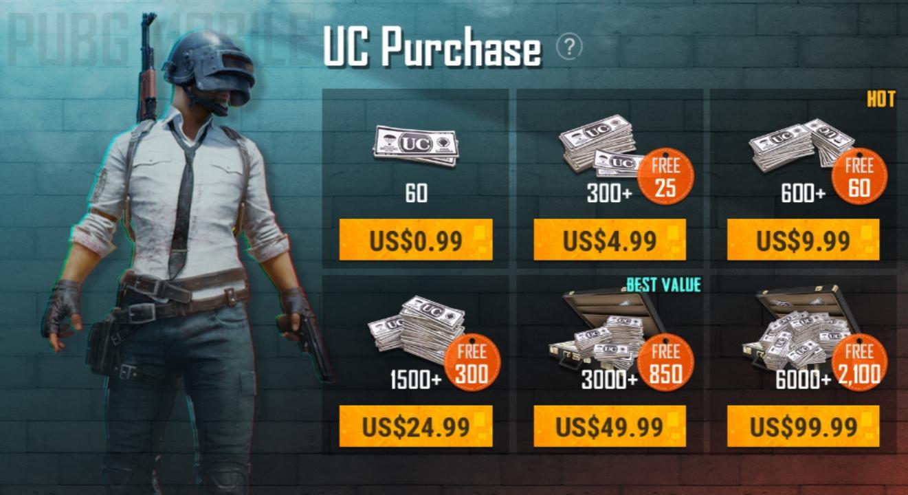 خرید UC پابجی موبایل